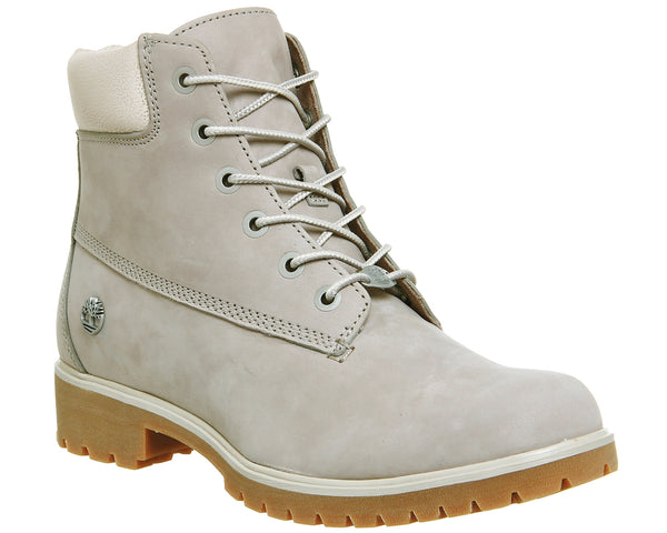 Womens Timberland Slim Premium 6 Inch Boot Af Grey Uk Size 5