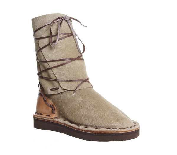 Womens Chamula Vw Boot Khaki Suede