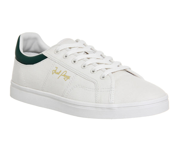 Mens Fred Perry Sidespin Canvas Porcelain Ivy Uk Size 10
