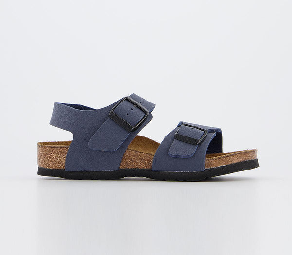 Kids Birkenstock New York Kids Nubuck Navy
