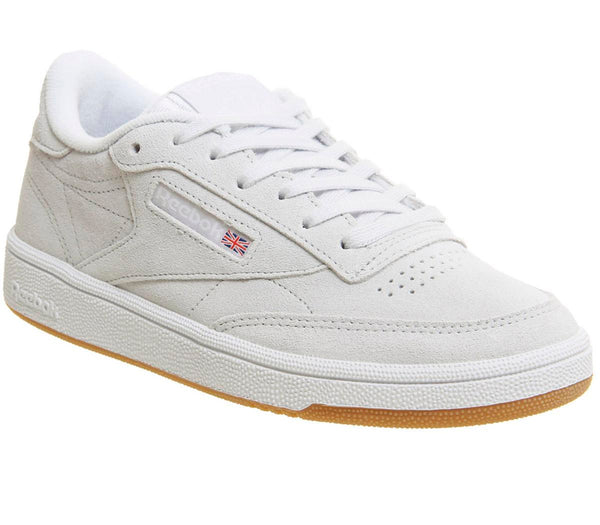 Womens Reebok Club C 85 Spirit White White Gum