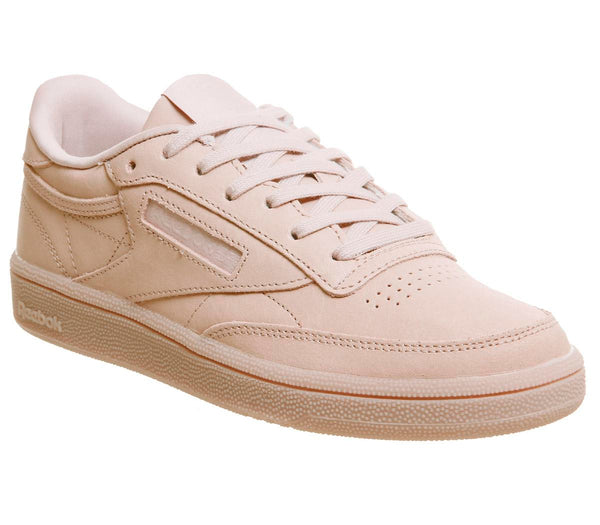 Womens Reebok Club C 85 Face Bare Beige White