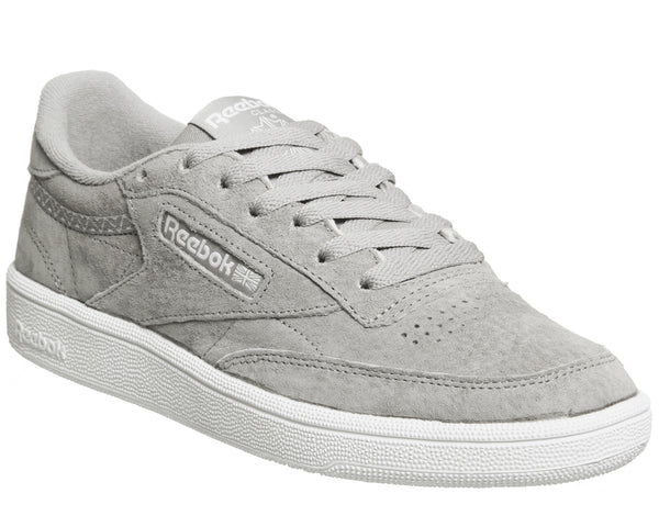 Womens Reebok Club C 85 Powder Grey White Trim