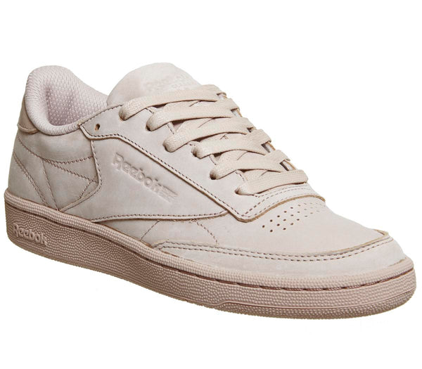 Mens Reebok Club C 85 Shell Pink Gold