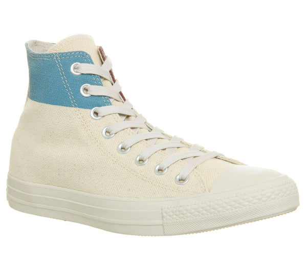 Converse All Star Hi Jute Aegan Storm Trainers