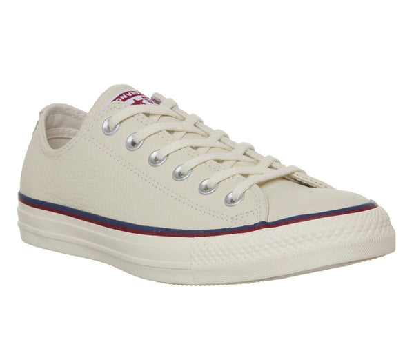 Mens Converse Converse All Star Low Natural Ivory Ash Grey Pomegranate Red Uk Size 11