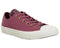 Womens Converse All Star Low Trainers Vintage Wine Black