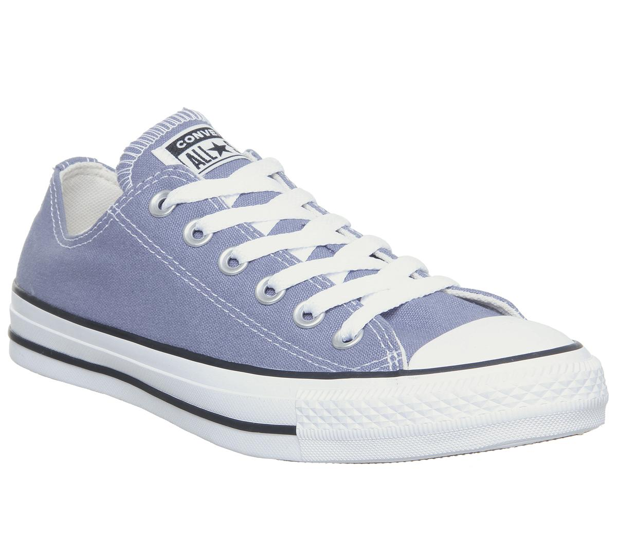 Mens Converse Converse All Star Low Stellar Indigo Uk Size 6