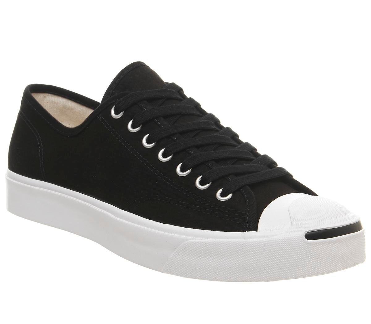 Mens Converse Jack Purcell Black White