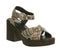 Womens Vagabond Marva Sandal Snake Leather