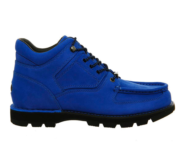 Mens Rockport Umbwe Boots Royal Blue Suede
