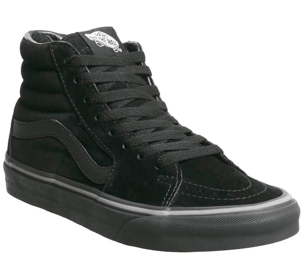 Unisex Vans Sk8 Hi Pirate Black Frost Grey
