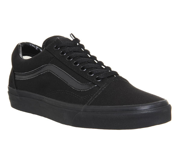 Mens Vans Old Skool Black Black