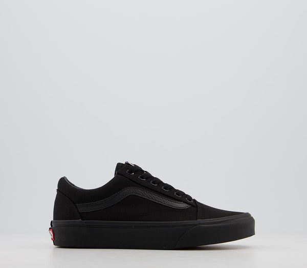 Odd sizes - Mens Vans Old Skool Black Black Trainers UK Sizes R6/L5