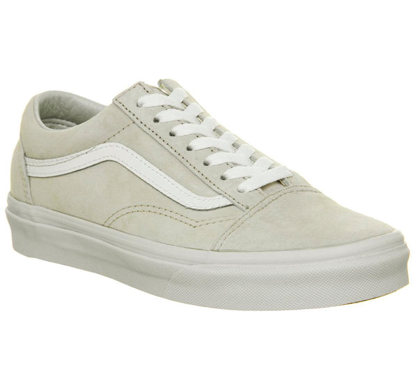 Mens Vans Old Skool Moonbeam White