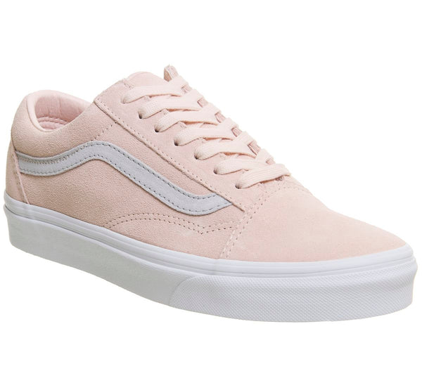 Womens Vans Old Skool Pale Pink Grey