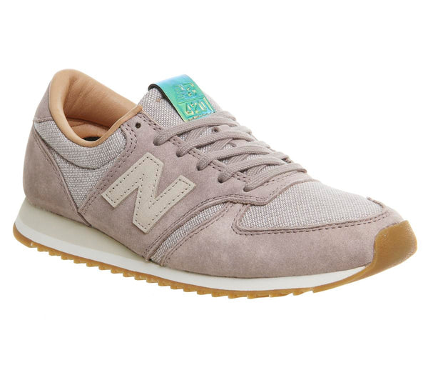 Womens New Balance Wl420 Crescent Powder Trainers