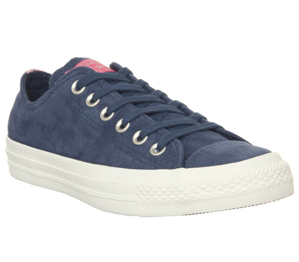 Converse Allstar Low Lthr Navy Egret Heel Stripe Exclusive