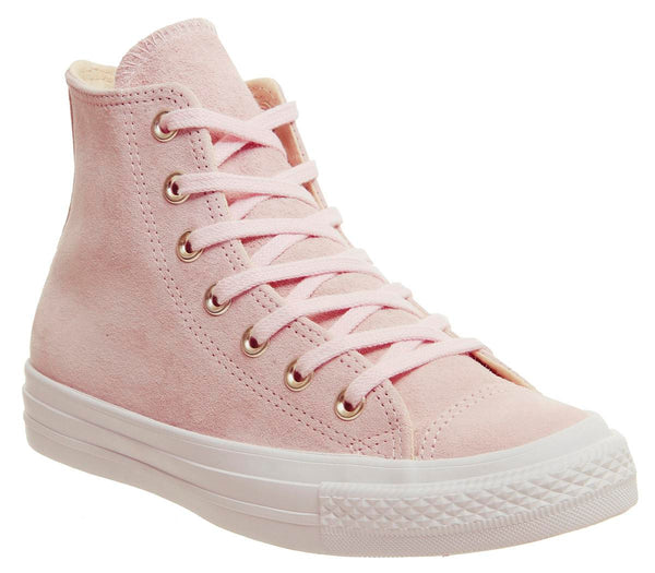 Womens Converse All Star Hi Leather Potpourri Light Twine White Uk Size 5