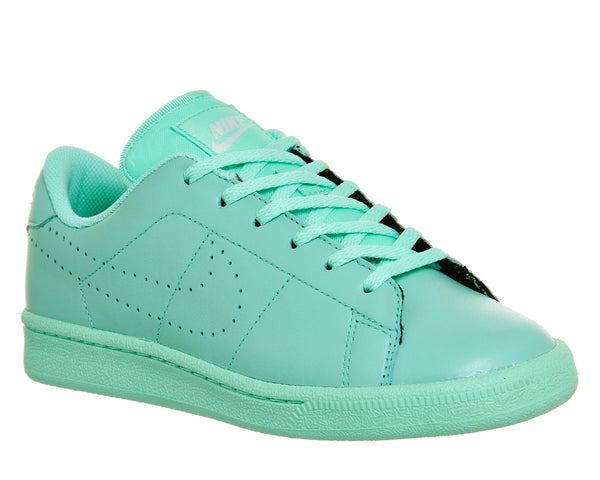 Kids Nike Tennis Classic Gs Green Glow