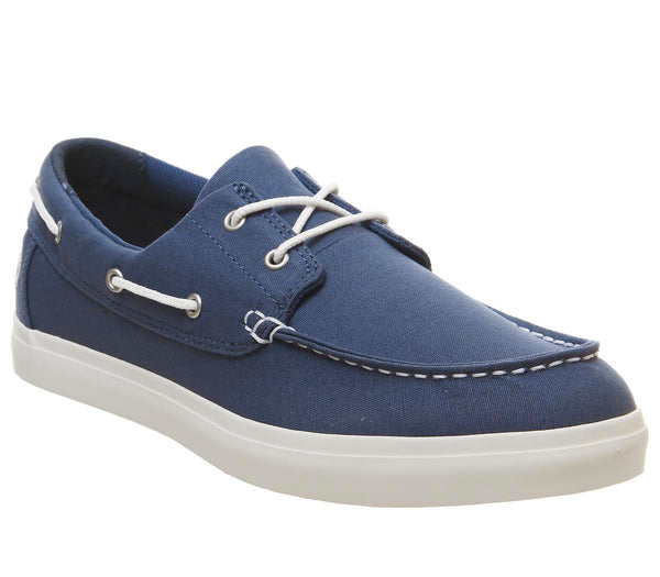 Mens Timberland Newport Bay 2 Eye Boat Oxford Dark Blue