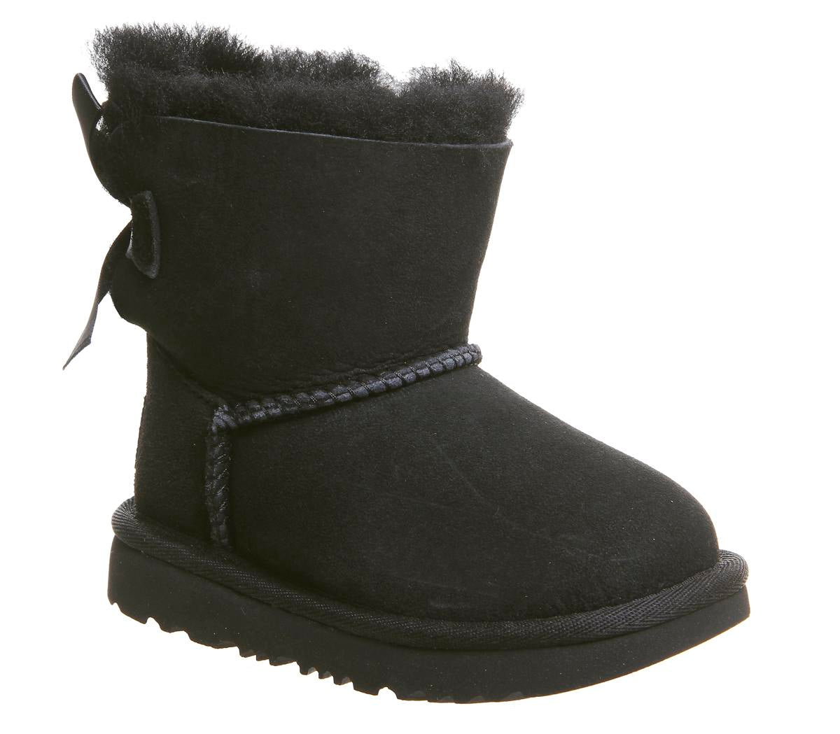 Kids UGG Bailey Bow Infant Boots Black