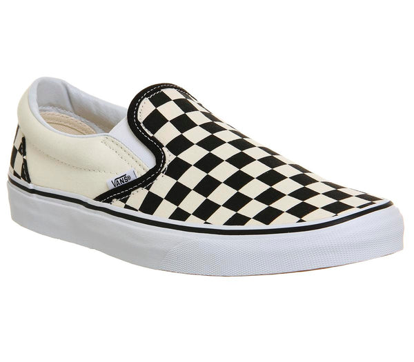 Mens Vans Classic Slip On BlackWhite Check
