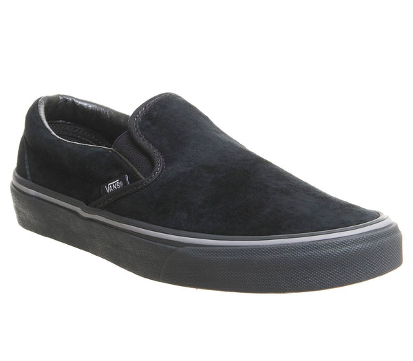 Vans Classic Slip On Trainers Pirate Black Frost Grey