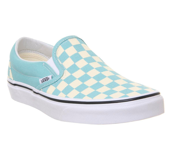 Womens Vans Classic Slip On Aqua Haze