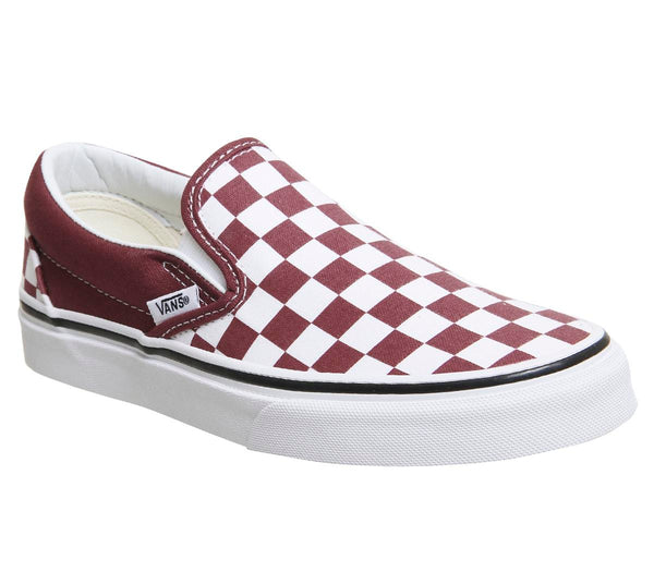 Womens Vans Classic Slip On Apple Butter True White