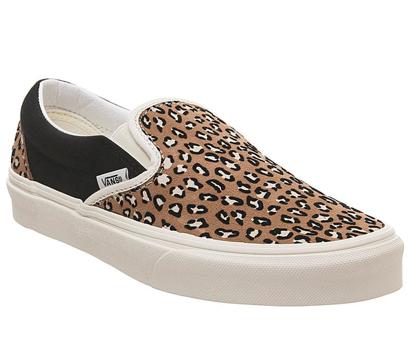 Womens Vans Classic Slip On Marshmallow Multi Animal
