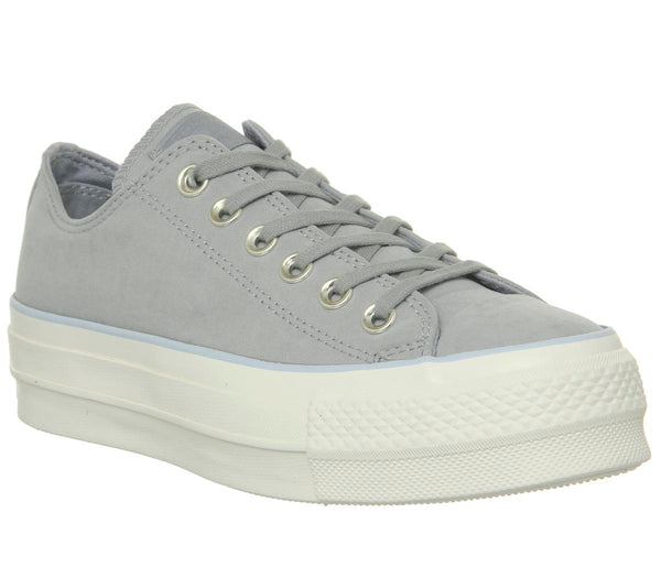 Womens Converse All Star Low Platform Dolphin Porpoise Egret Uk Size 6