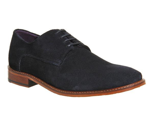 Mens Ted Baker Joehal 2 Lace Up Dark Blue Suede Uk Size 7