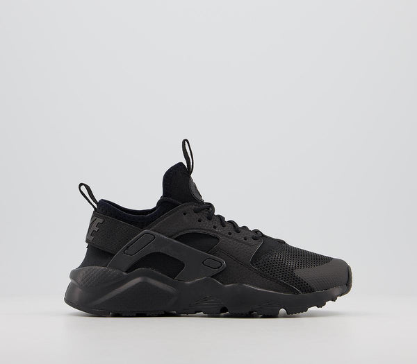 Odd sizes - Kids Nike Huarache Ultra Gs Black Black Black Sizes R5/L4