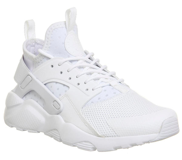 Odd sizes - Kids Nike Huarache Ultra Gs White White White Sizes R4.5/L5.5