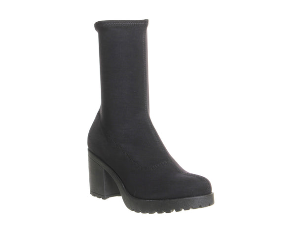 Womens Vagabond Grace Stretch Boot Black