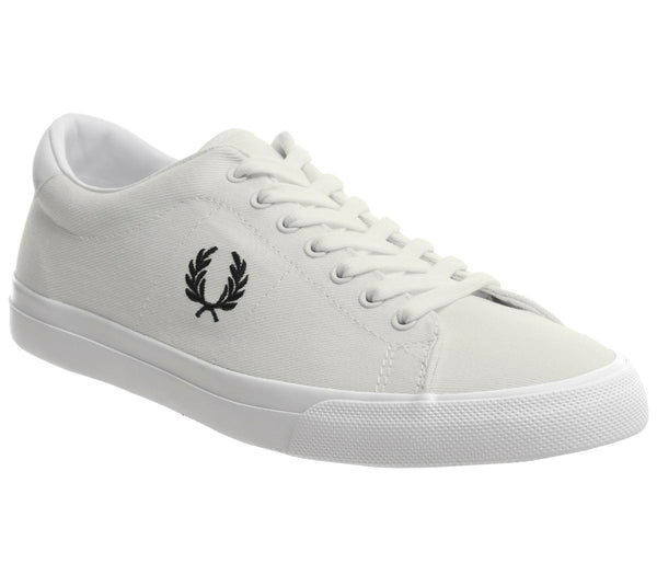 Mens Fred Perry Underspin White White Black