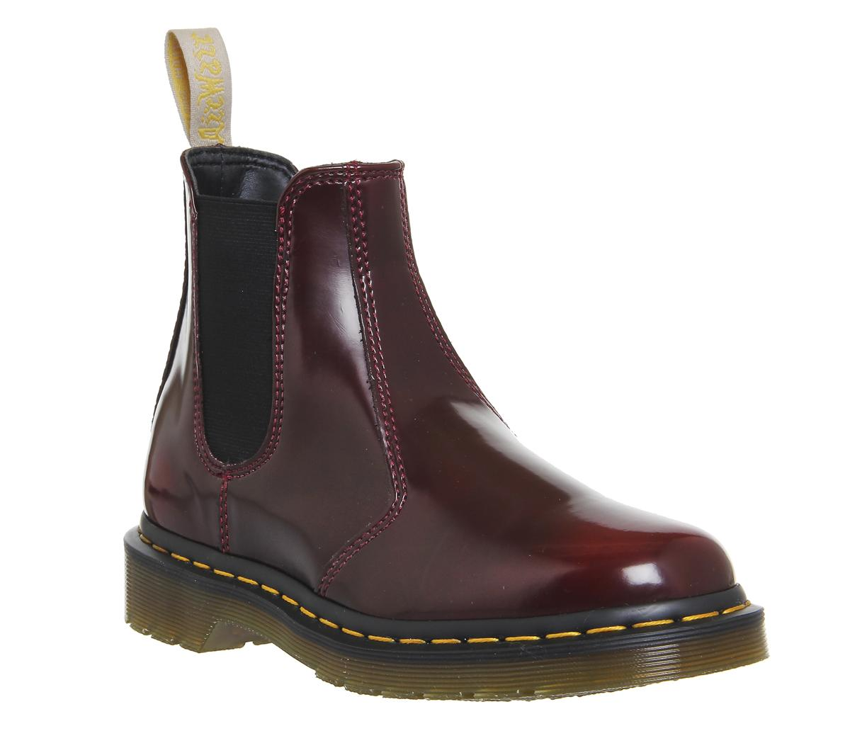 3a0bc471c7e Womens Dr.Martens Vegan 2976 Chelsea Boot Cherry Uk Size 7