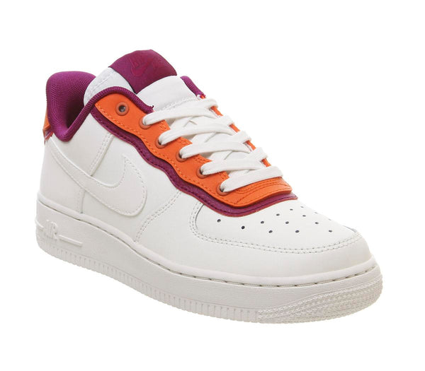 Womens Nike Air Force 1 07 Sail Sail Tram Orange True Berry Uk Size 4
