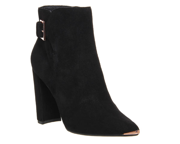 Womens Ted Baker Maryne Boot Black Suede