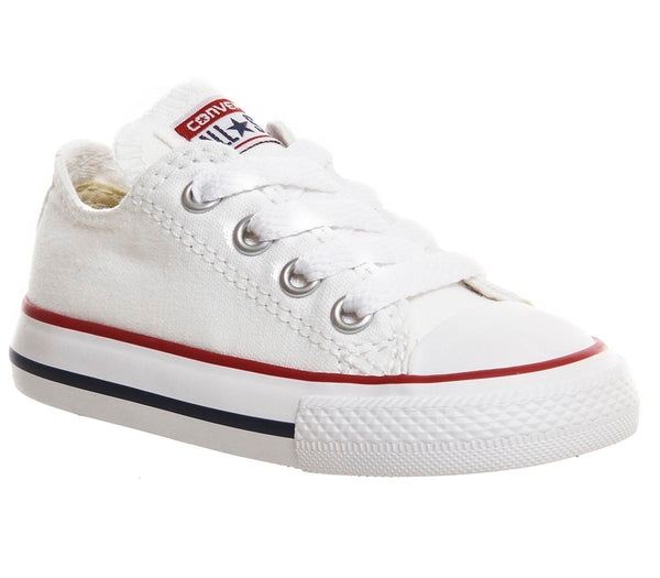 Kids Converse Allstar Low Infant White