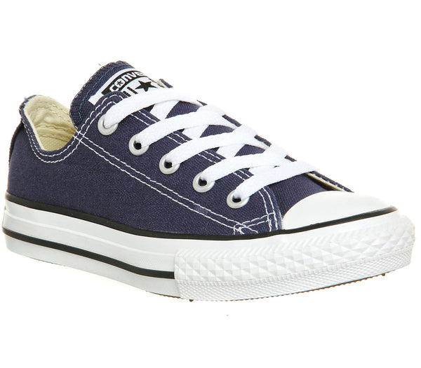 Kids Converse All Star Low Youth Navy