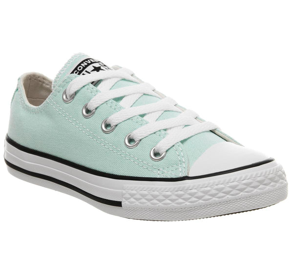 Kids Converse All Star Low Youth Teal Tint White