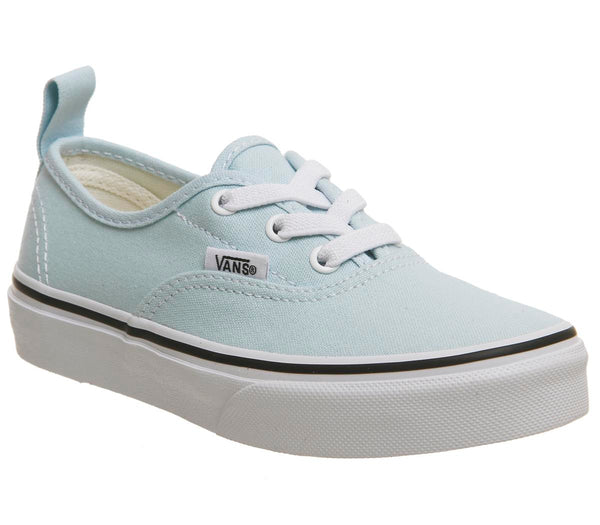 Kids Vans Authentic Kids Baby Blue True White