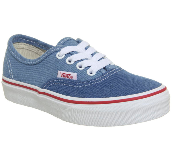Kids Vans Authentic Kids Blue True White