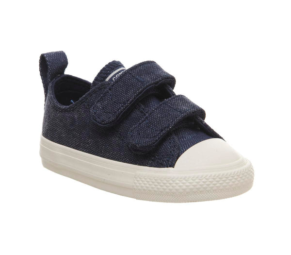 Kids Converse All Star 2Vlace Navy Egret