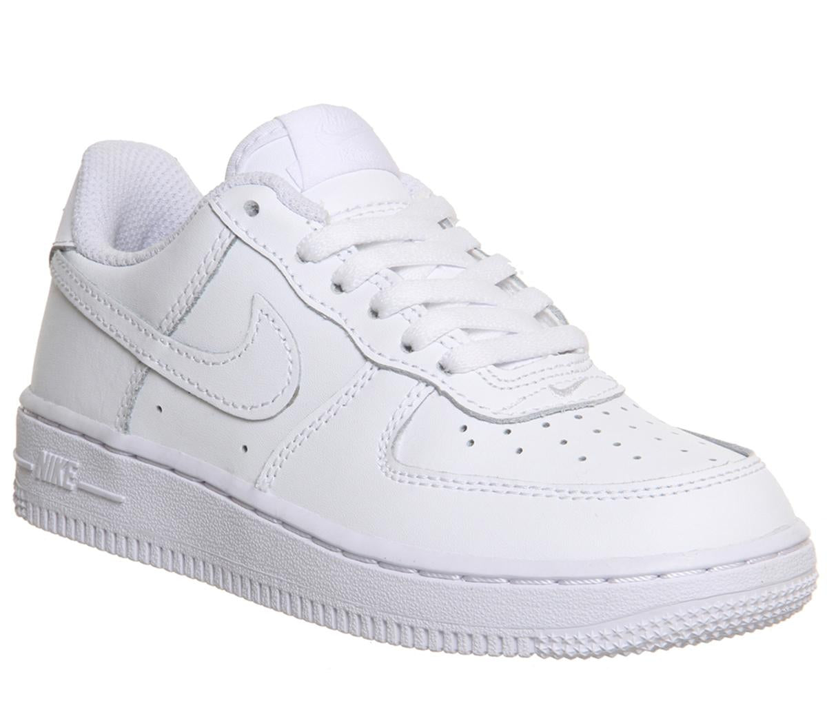 12f626601b Kids Nike Air Force 1 Whitewhite Uk Size 10 Youth – OFFCUTS SHOES by ...