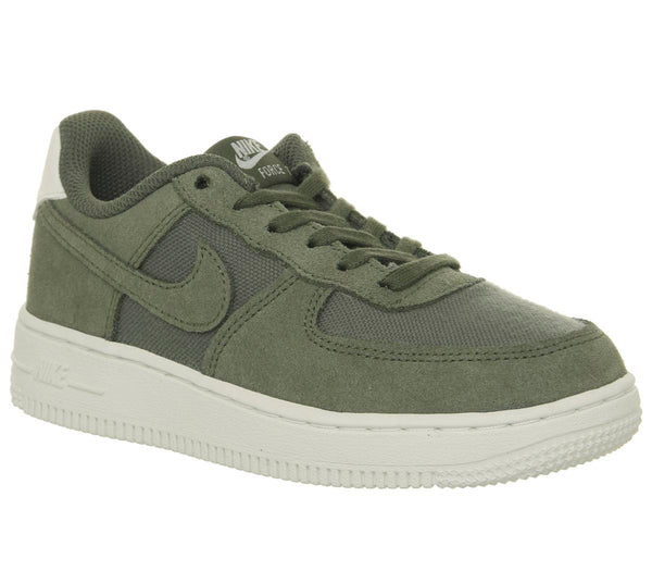 Kids Nike Air Force 1 Ps Khaki Suede