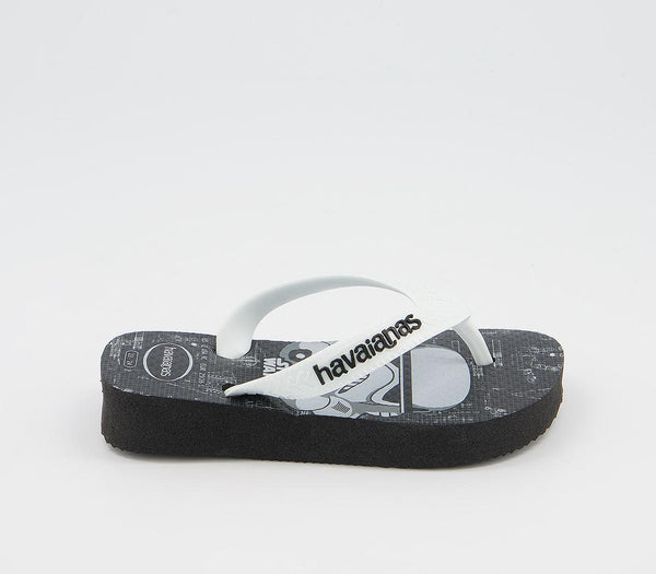 Kids Havaianas Kids Brasil Star Wars Black White