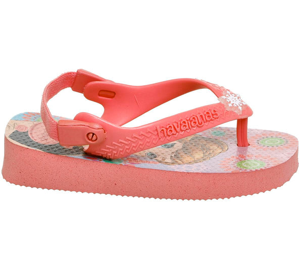 Kids Havaianas Baby Brazil Sandals Rose Frozen